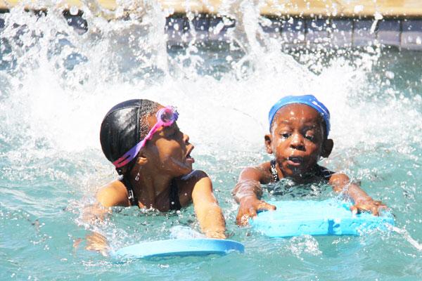 Swimming Gala at Glen Austin Primary School Midrand