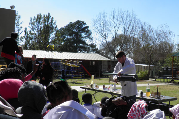 Science Show and Dress Up Day at Glen Austin Primary School