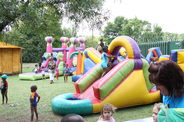 Christmas Party at Glen Austin Primary School and Nursery School